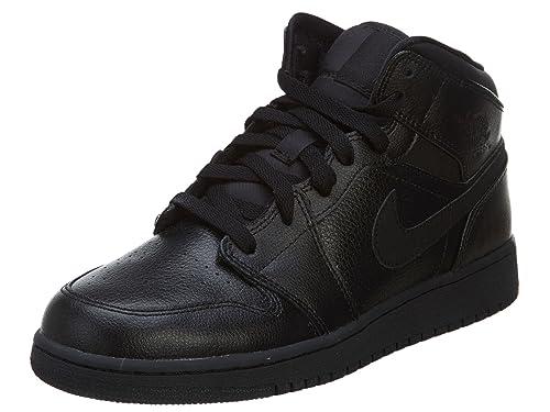 Nike Jordan 1 Mid (BG), Zapatillas de Baloncesto para Niños