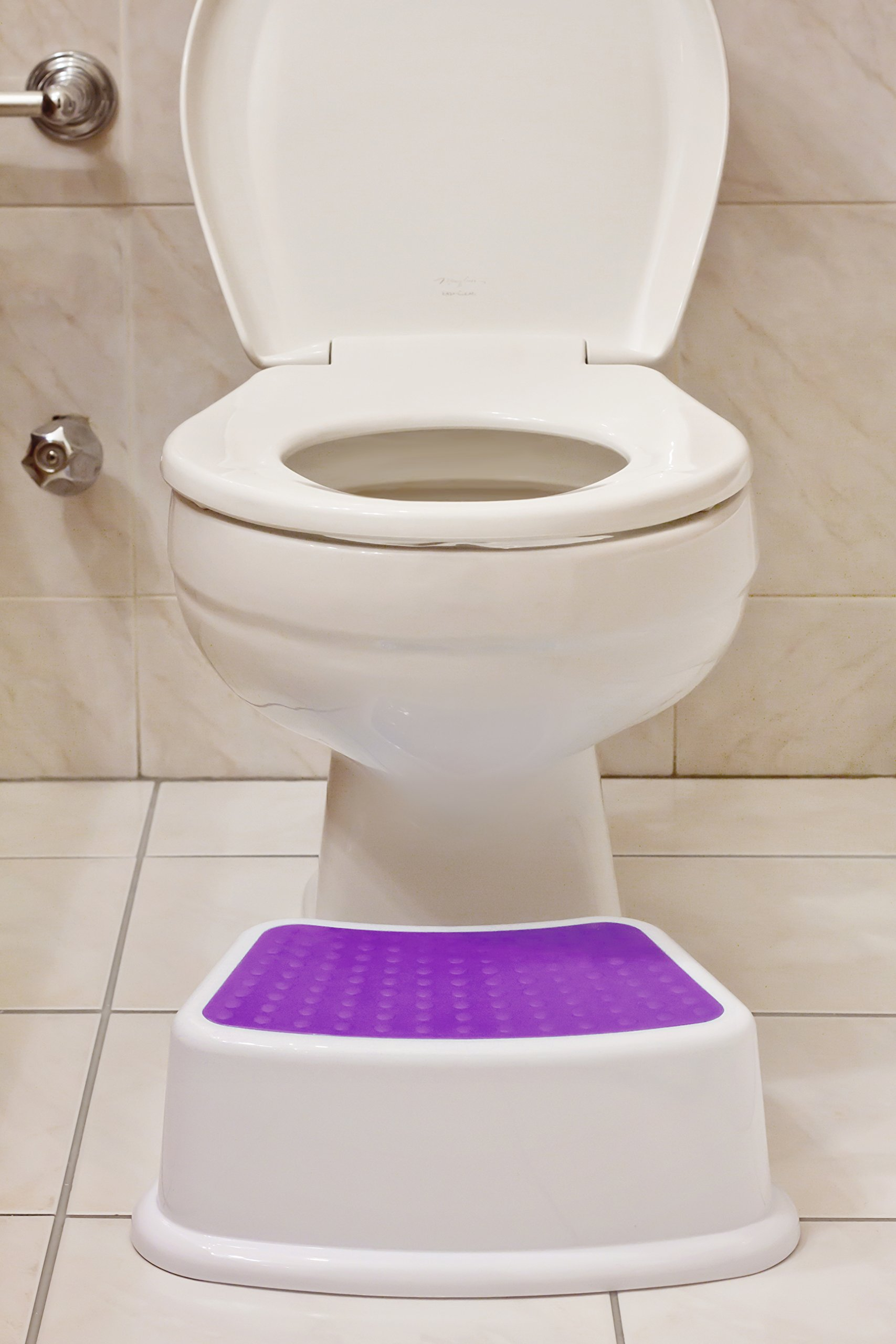 Kids Step Foot Stool Bathroom Toddler Stand On Potty Child