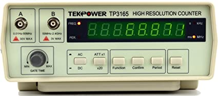 Amazon.com: TekPower TP3165, Intelligent Frequency Counter 0.1Hz ...