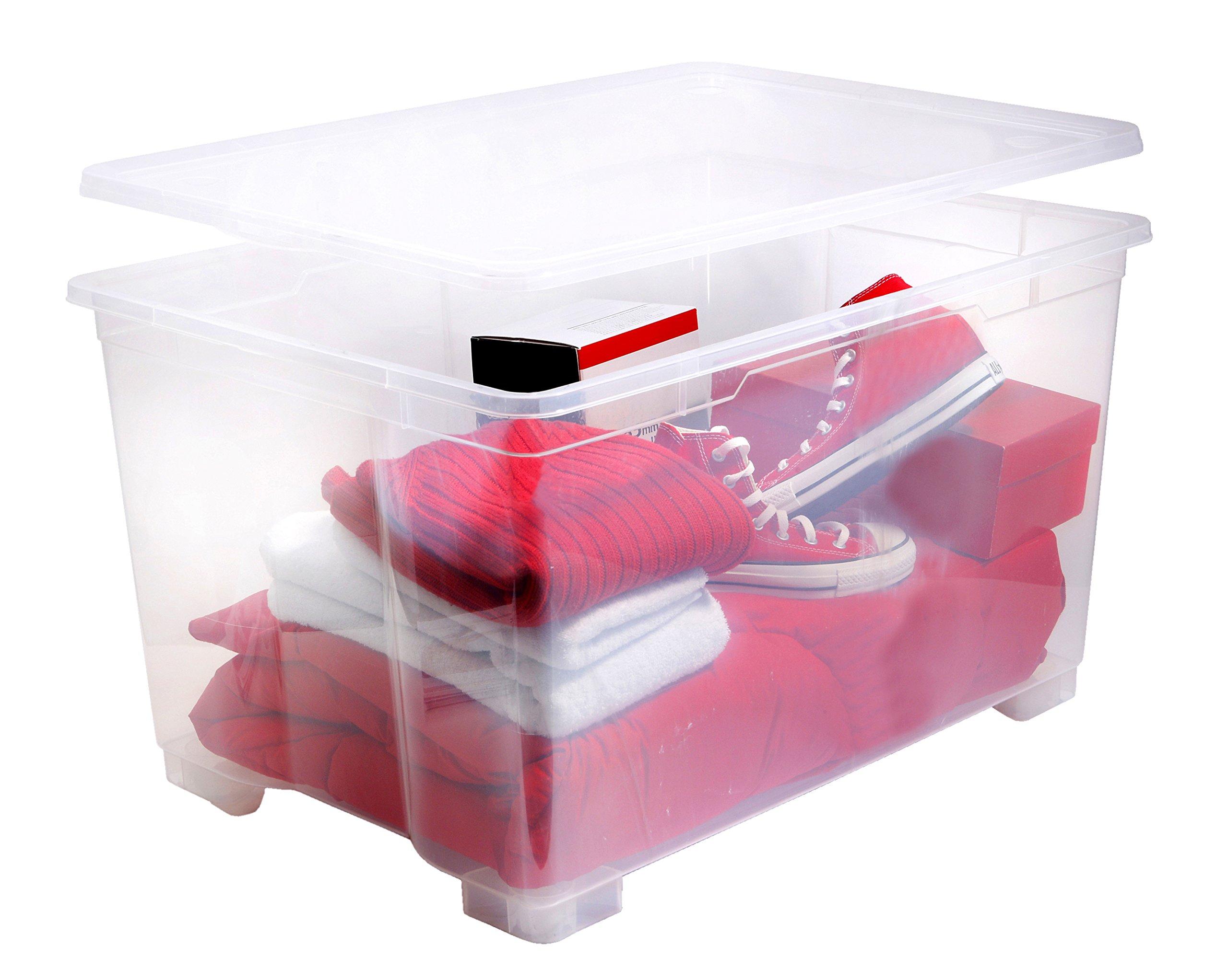 Rotho Sundis 4230001 Cbox Mega Caja Polipropileno Transparente 78 x 56 x 45 cm product image