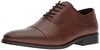 Unlisted by Kenneth Cole Mens Half Time Oxford Brandy