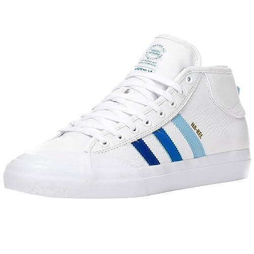fdcfd2e38c93c Adidas Matchcourt Mid ADV Nakel Smith White/Collegiate Royal/Blue ...