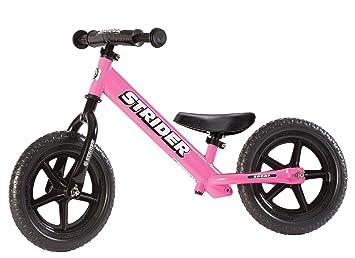 Strider - Bicicleta sin pedales Strider 12 Sport, para niños de 18 meses a 5 años, rosa: Amazon.es: Deportes y aire libre