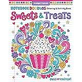 Notebook Doodles Sweets & Treats: Coloring & Activity Book (Design Originals) 32 Scrumptious Designs; Beginner-Friendly Empow