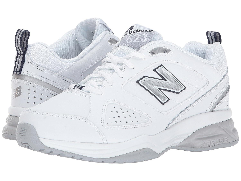 卸し売り購入 (ニューバランス) New Balance Wide レディーストレーニング競技用シューズ靴 (ニューバランス) WX623v3 White Balance/Navy 11 (28cm) D - Wide B078FZ2B2Z, プチママ:3d32620a --- tradein29.ru