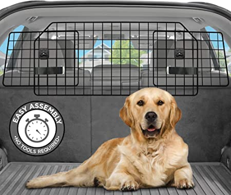Pawple Dog Car Barrier for SUV's, Cars & Vehicles, Trucks - Premium-quality Material
