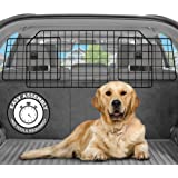 Pawple Dog Car Barrier for SUV's, Cars & Vehicles, Trucks, Adjustable Large Pet Barrier, Heavy-Duty Wire Mesh- Universal…
