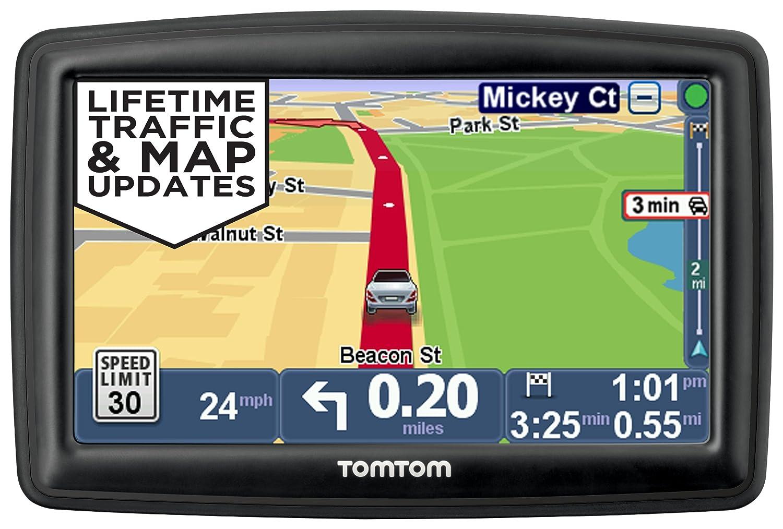 TomTom START 55TM 5-Inch GPS Navigator with Lifetime Traffic & Maps and Roadside Assistance 1EF0.017.04