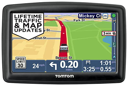 Tomtom Start 55tm 5 Inch Gps Navigator With Lifetime Traffic Maps And Roadside Istance