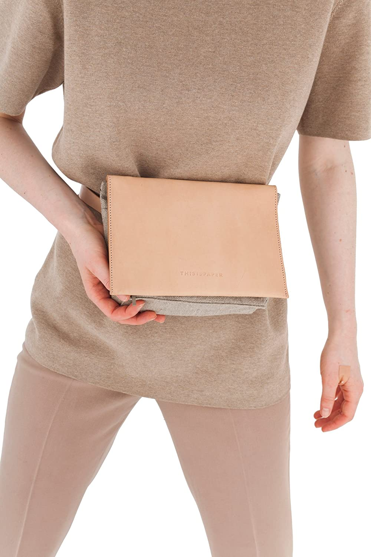 Thisispaper Tactical Bag Lite Raw Natural