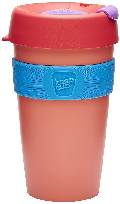 8 opinioni per KeepCup–Tazza da viaggio, plastica, Tea Rose, 16oz/454ml