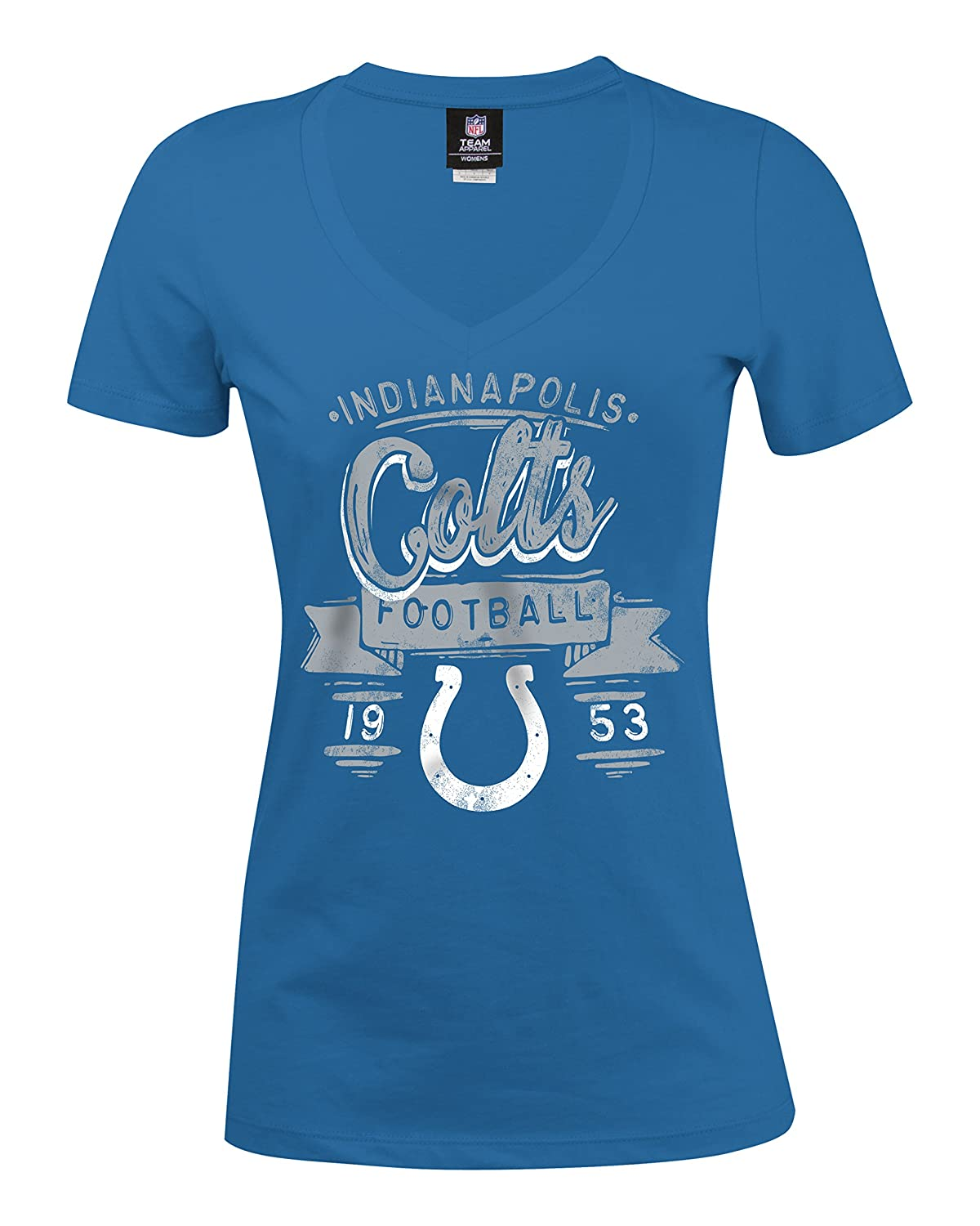 c0e9ffa0 Amazon.com : A-Team Apparel NFL Indianapolis Colts Women's Baby ...