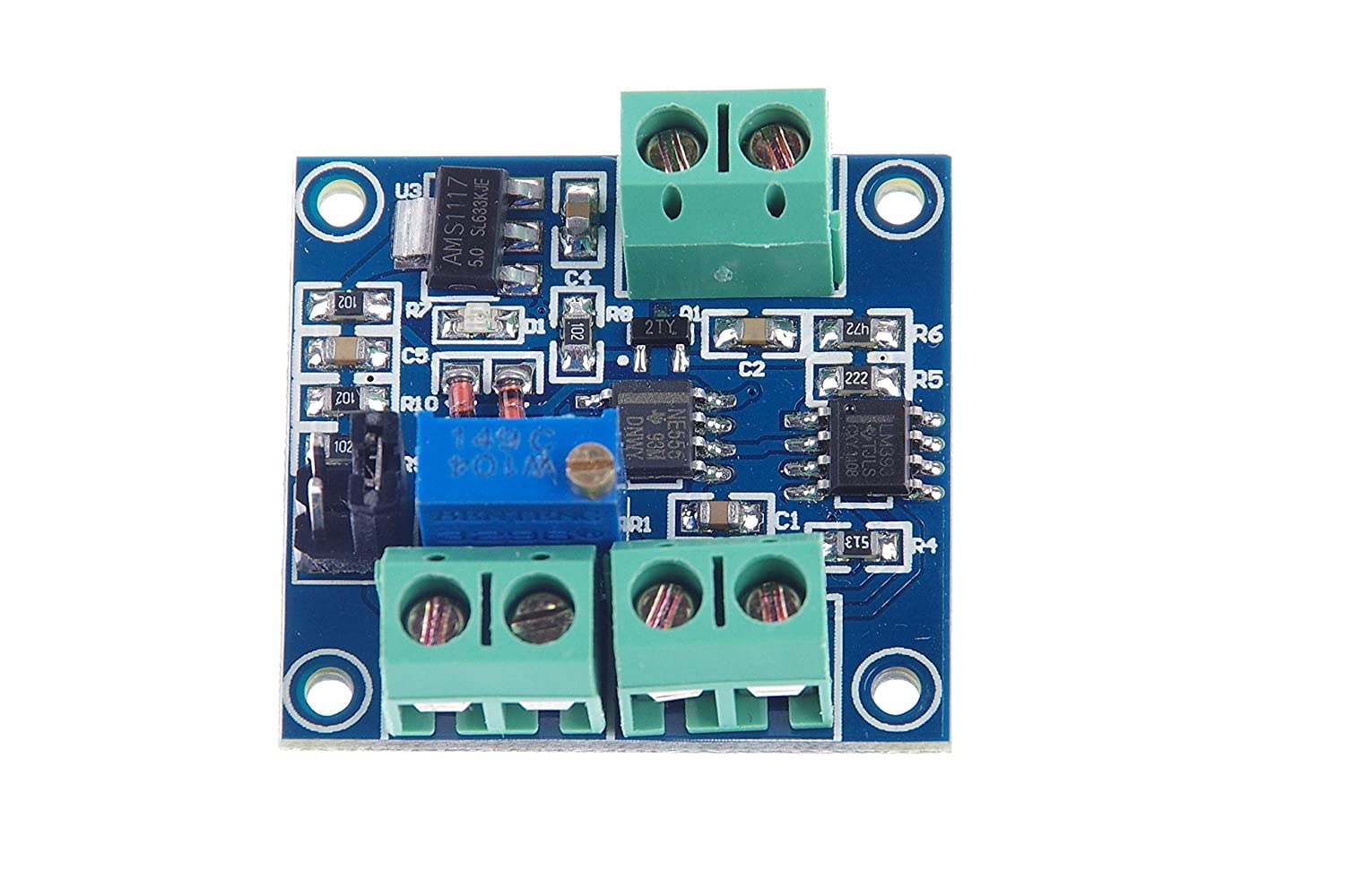 KNACRO Voltage - to - PWM module/0-5V/0-10V voltage converted to 0-100% on