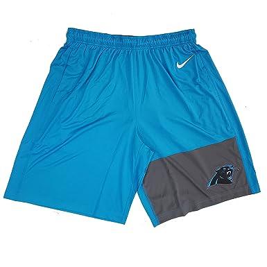 d7f3ad3d Nike Men's Dri-Fit NFL Carolina Panthers Training Shorts 747290 455 ...