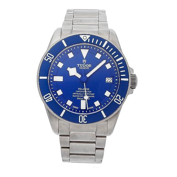 Tudor pelagos azul Dial Automático Mens Reloj 25600tb-blrs por Tudor