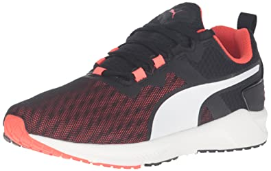 PUMA Men's Ignite XT v2 Cross-Trainer Shoe, Black/Red Blast, 7