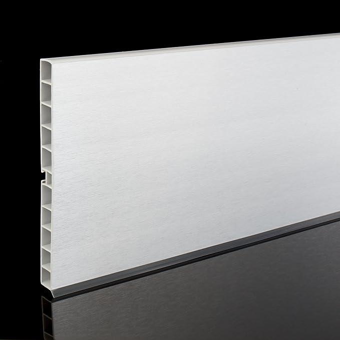 1,5m KÜCHENSOCKEL ALUMINIUM 150mm Sockelleisten Küchen Sockelsystem ...