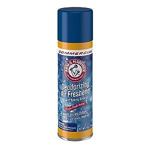 Arm & Hammer 33200-94170 Deodorizing Air Freshener, Aerosol, 7 oz. (Pack of 12)