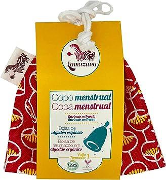 Lamazuna Copa Menstrual, Talla 1, Color Rosa - 20 gr