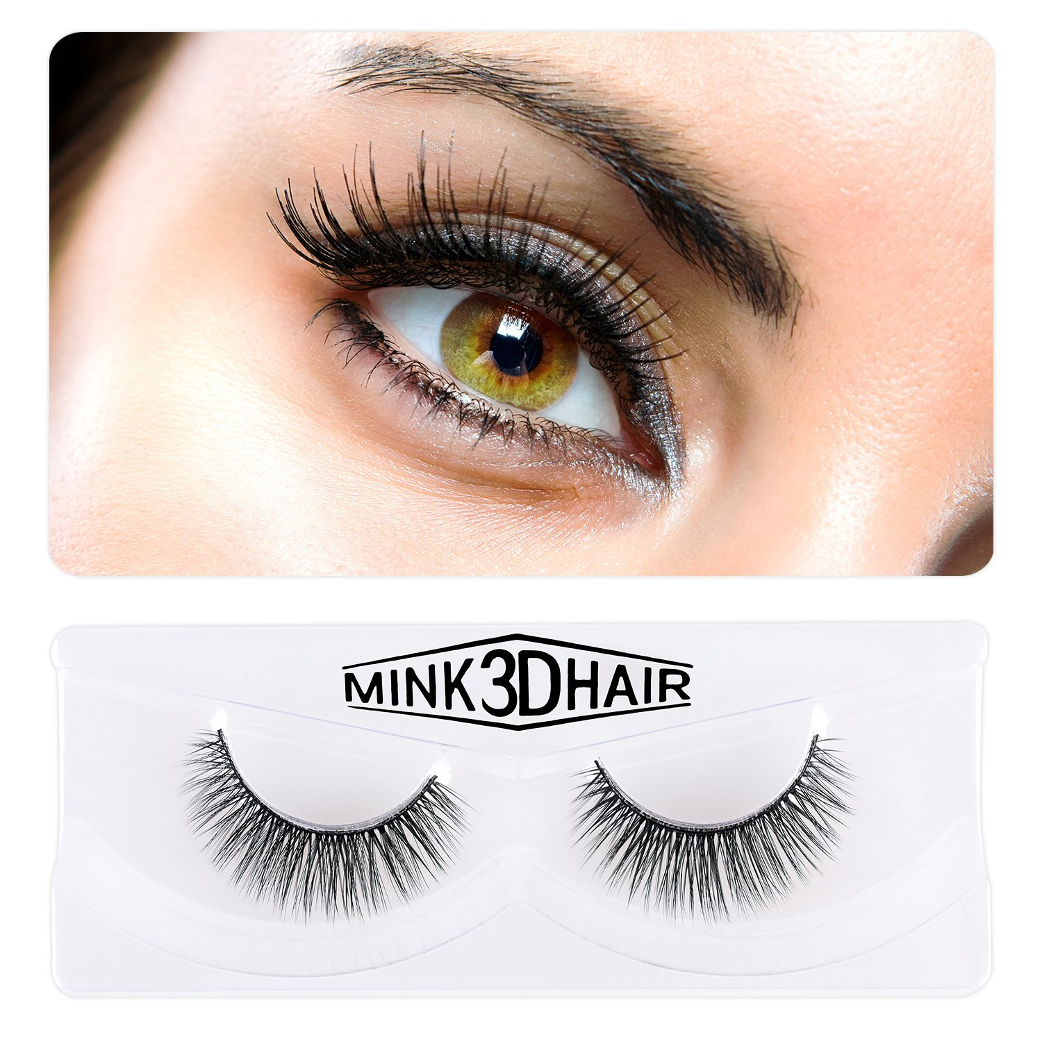 Amazon Weiji Makeup False Eyelashes 1 Pair Natural Fake