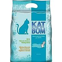 KatBom - Granulado Sanitário - Cx com 6 pacotes, Marrom