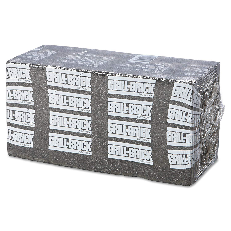 Boardwalk GB12PC Grill Brick, 8 x 4, Black (Case of 12) (Pack of 3)