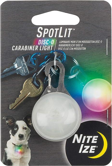 Nite Ize Spot Lit LED Carabiner Light Blue