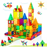 Magnet Toys for 3 Year Old Boys and Girls Magnetic Blocks Building Tiles STEM Learning Toys Montessori Toys for Toddlers Kids