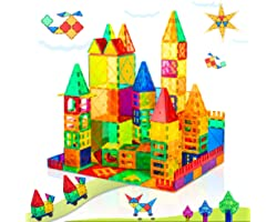 Compatible Magnet Toys for 3 Year Old Boys and Girls Magnetic Blocks Building Tiles STEM Learning Toys Montessori Toys for To
