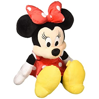"""Marvel Minnie Mouse Medium Size 18"""" in Red Plush Dolls: Toys & Games"""