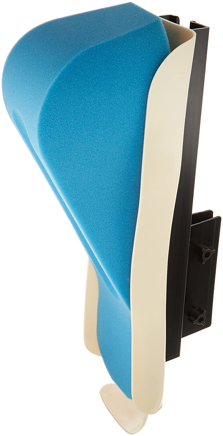 Sammons Preston Adjustable Arm Tray, Elevated Foam Arm Support/Armrest for Wheelchairs, Left,31095