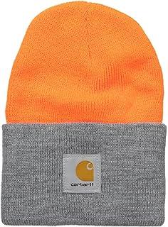 c63b6d7c12437e Carhartt Men's Acrylic Knit Hat, Black, One Size at Amazon Men's ...