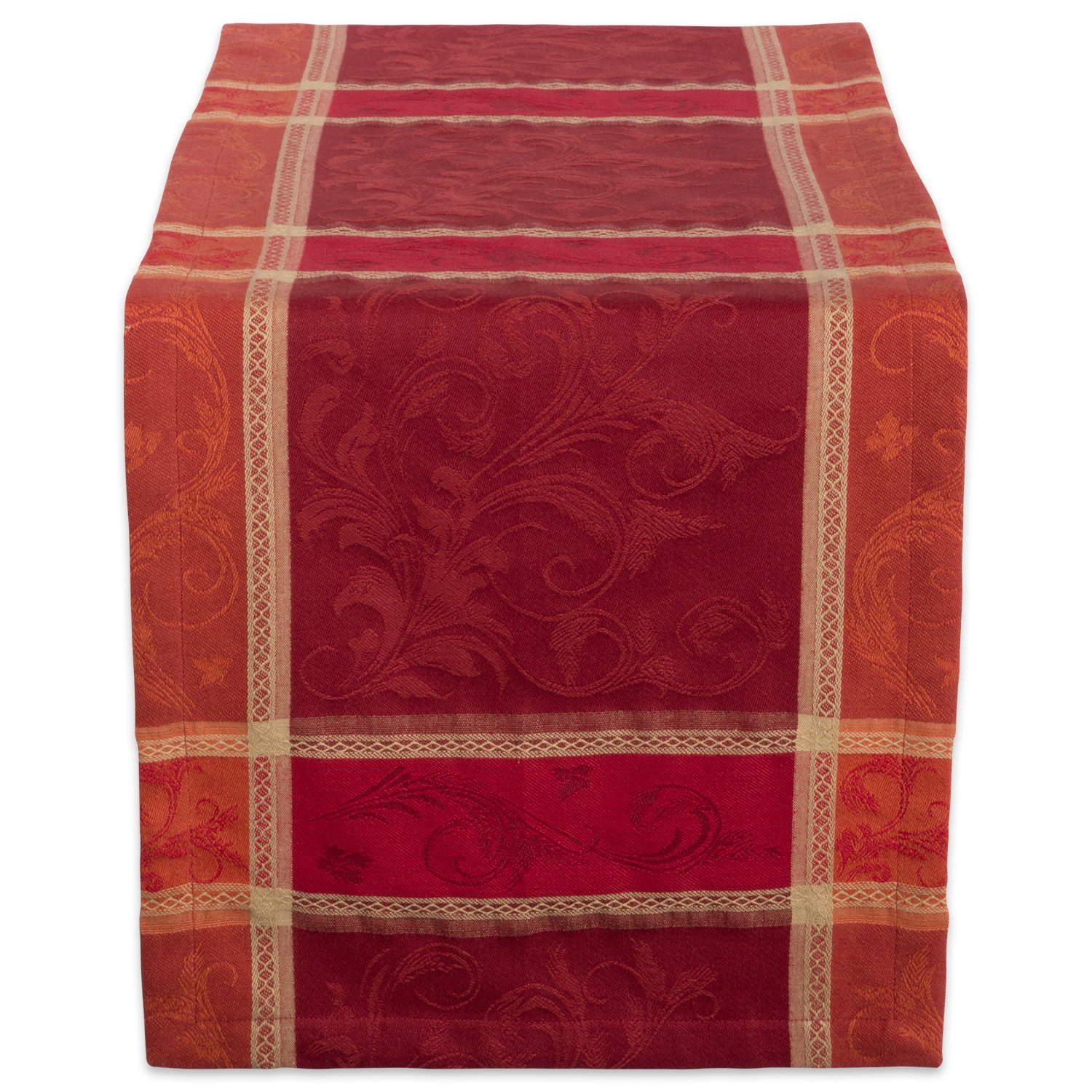 DII 14x72'' Cotton Table Runner, Harvest Wheat - Perfect for Fall, Thanksgiving, Catering Events, Dinner Parties, Special Occasions or Seasonal Décor
