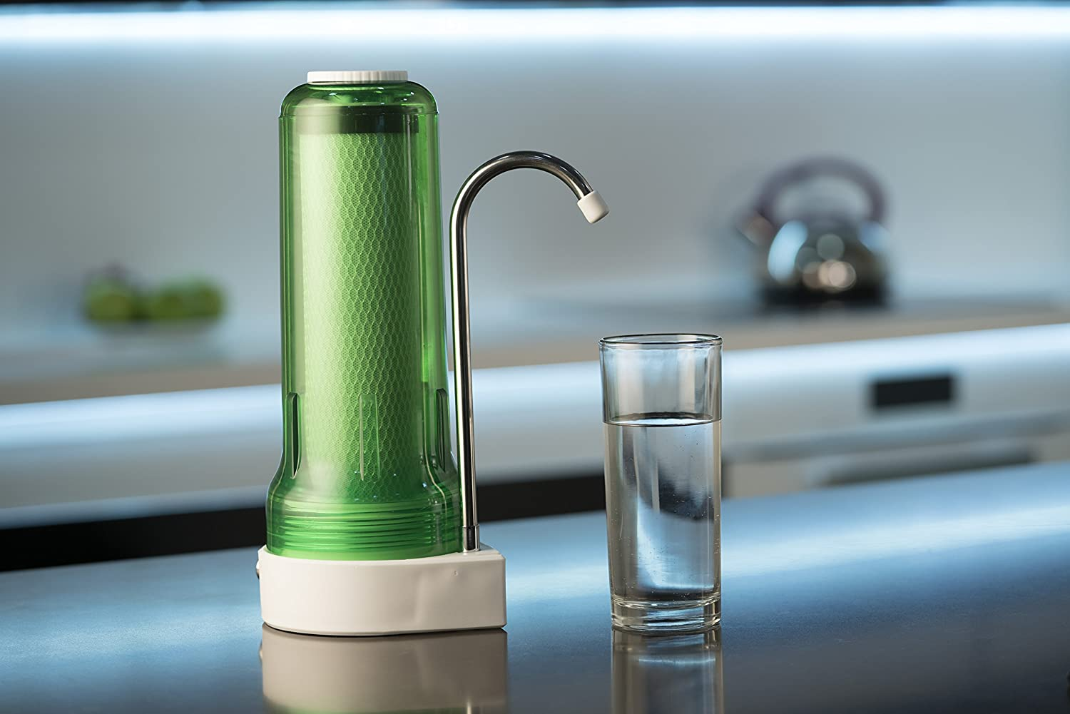 Amazon.com: Ecosoft Countertop Drinking Water Filter System w/ 1 ...