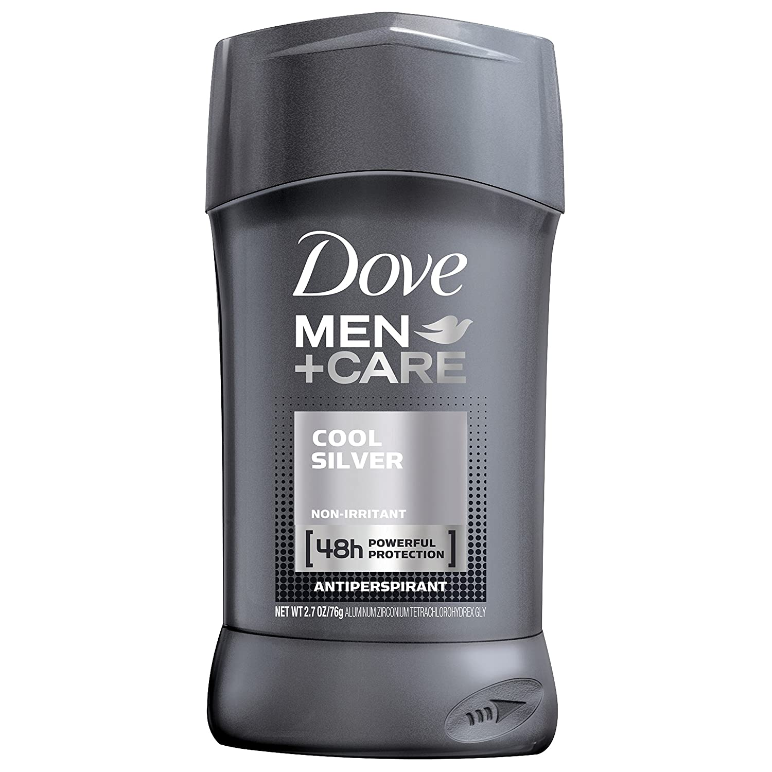 Dove Men+Care Antiperspirant Deodorant Stick, Cool Silver, 2.7 oz