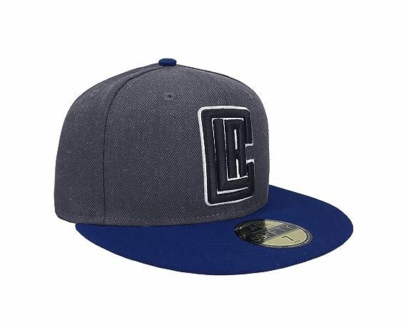 20f2e22e5d0 New Era 59Fifty Hat NBA Los Angeles Clippers Shader Melt 2 Charcoal Blue Cap  at Amazon Men s Clothing store