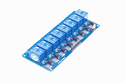 Amazon com: SMAKN 8 Channel DC 12V Relay Module for Arduino