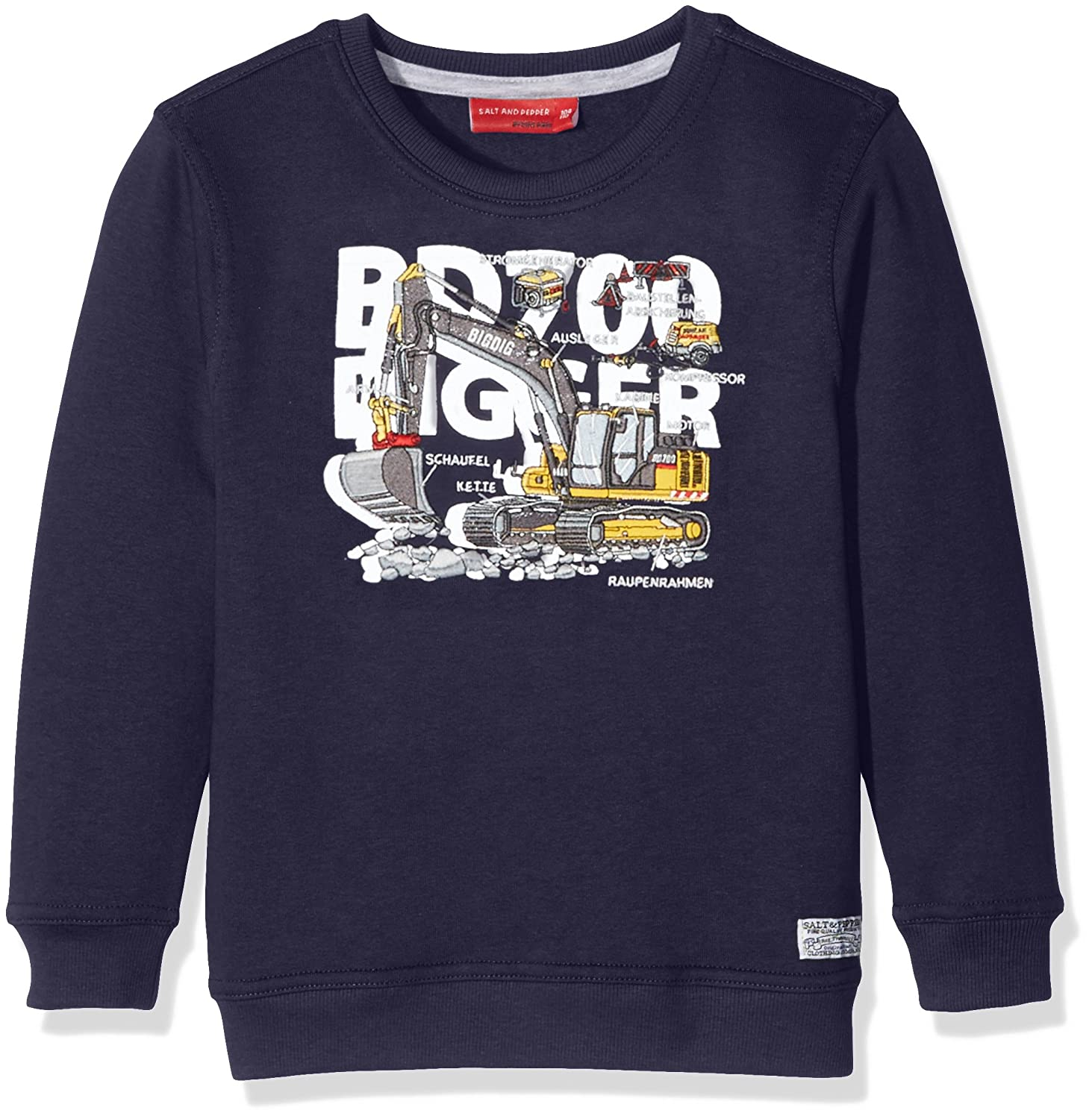 SALT AND PEPPER Jungen Sweat Builder Bagger Sweatshirt
