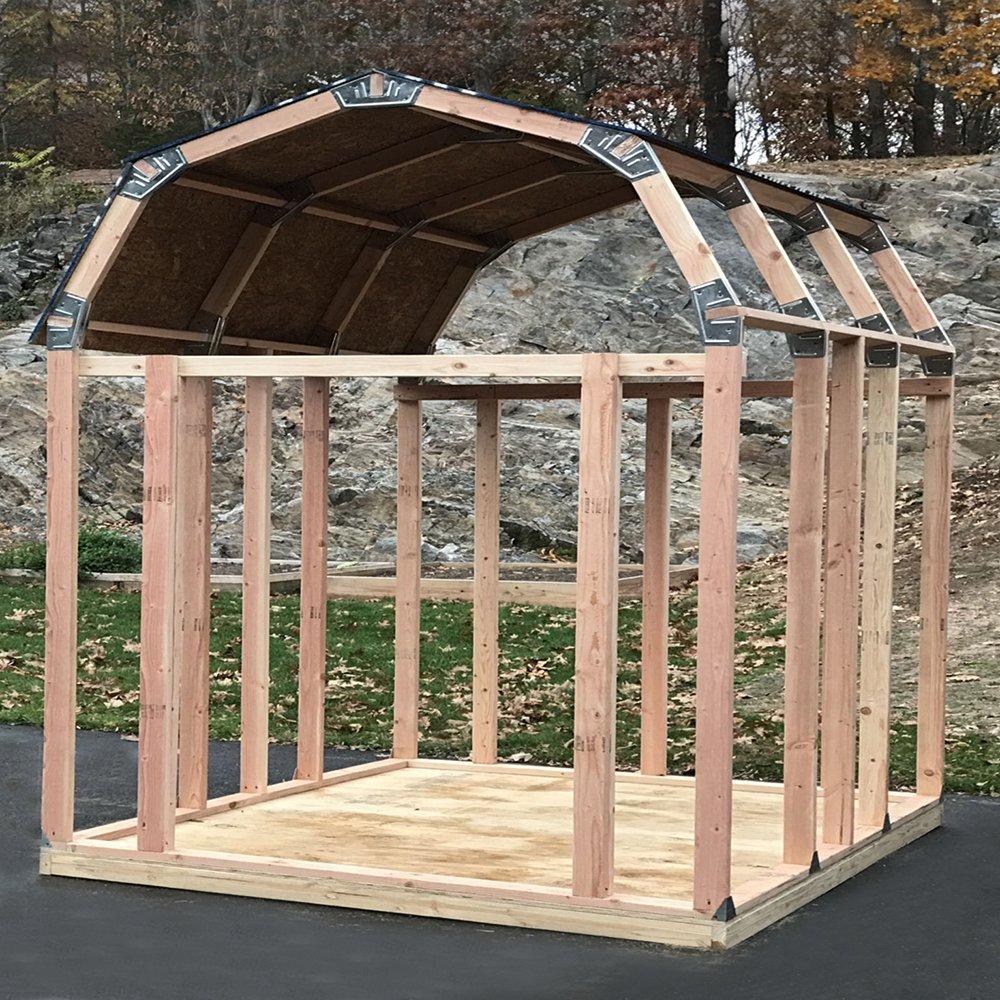 EZ Schuppen 70188 Barn Stil Instant Einrahmung Kit: Amazon.de: Garten