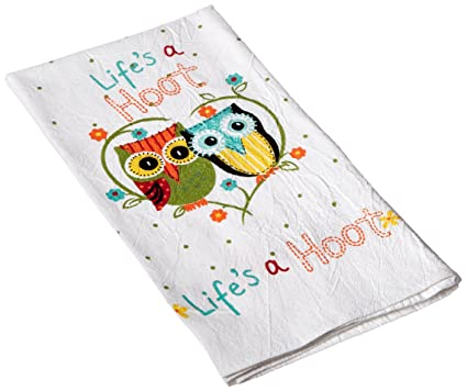 Charmant Kay Dee Designs Cotton Flour Sack Towel, Lifeu0027s A Hoot