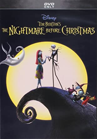 NIGHTMARE BEFORE CHRISTMAS THE TIM BURTONS