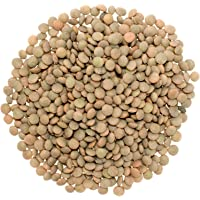 Small Brown Lentils • Pardina or Spanish Brown • Non-GMO Project Verified • 25 LBS • 100% Non-Irradiated • Certified Kosher Parve • USA Grown • Field Traced • Poly Bag