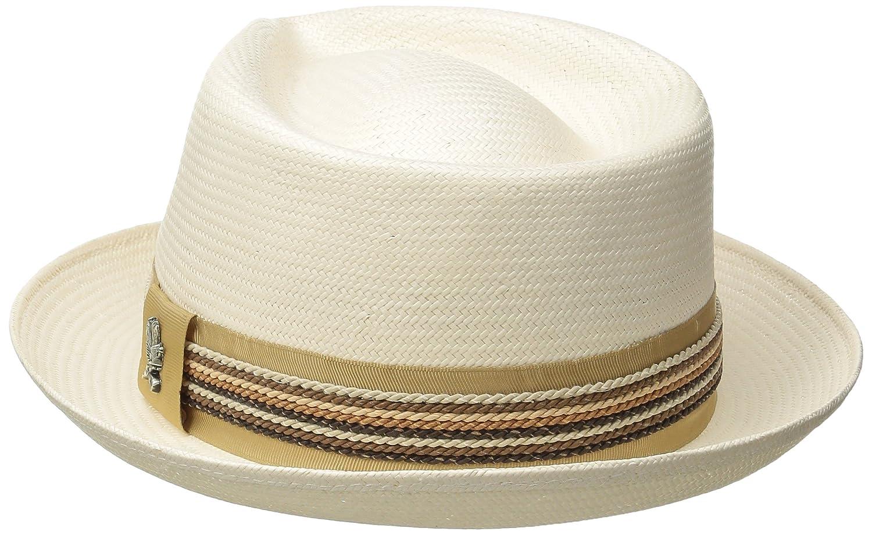 Carlos by Carlos Santana Mens Shantung Pinch Front Hat Fedora