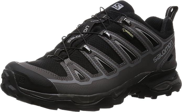 Salomon L37982300, Zapatillas de Atletismo para Hombre, Negro (Black/Autobahn/Pewter), 41 1/3 EU: Amazon.es: Zapatos y complementos