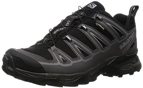 Salomon L37982300, Zapatillas de Senderismo para Hombre, Negro (Black/Autobahn/Pewter), 40 2/3 EU: Amazon.es: Zapatos y complementos