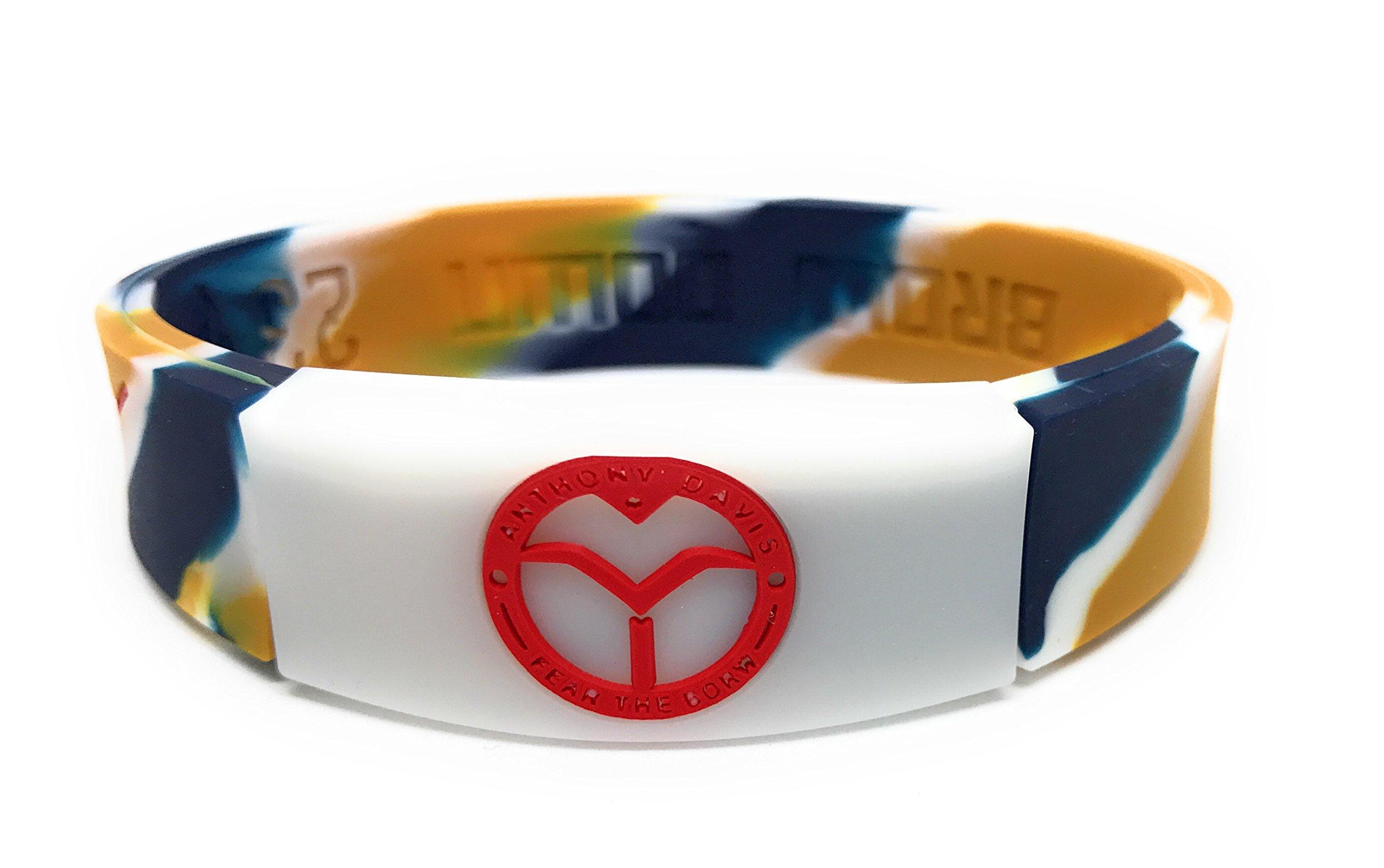 KIDS SportsBraceletsPro REVERSIBLE KIDS Wristband KIDS SIZE 6.7'' Size Bracelet (Davis KID 6.7'' Camo)