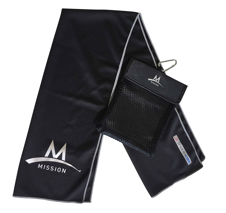 Mission Outdoor Towel Toalla con mosquetn refrigeracin Toalla ...