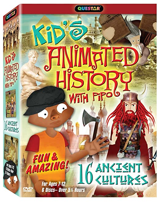 Amazon.com: Kid's Animated History with Pipo: Hosted By: Pipo ...