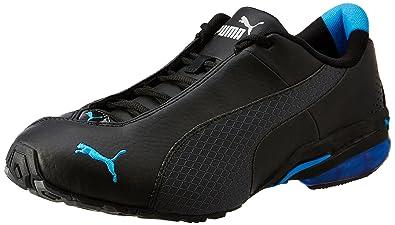Puma Men s Jago Ripstop II DP Black and Dark Shadow Running Shoes - 6 UK  4bcba3611f
