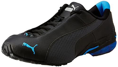 Puma Men s Jago Ripstop II DP Black and Dark Shadow Running Shoes - 11 UK  ab7a906f5